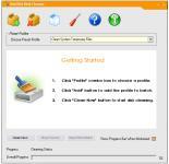 Screenshot programu OneClick Disk Cleaner 1.0