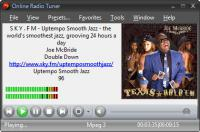 Screenshot programu Online Radio Tuner 2.5.4467.561