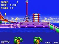 Screenshot programu Open Sonic 0.1.4