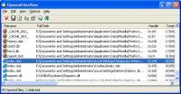 Screenshot programu OpenedFilesView 1.61