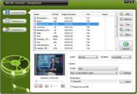 Screenshot programu Oposoft AVCHD Converter 7.7