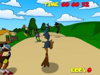 Screenshot programu Ostrich Runner