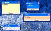 Screenshot programu OTM Poznámky 1.1.15