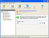 Screenshot programu Outlook Password Recovery 2.0.2