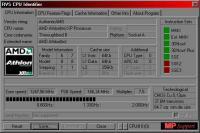 Screenshot programu OverSoft CPU Informer 1.1 beta 1