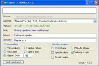 Screenshot programu PDF Signer 2.0.7.0