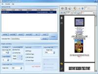 Screenshot programu PDF2JPG Converter 4.5