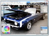 Screenshot programu Paint.NET 3.5.3 Beta 1