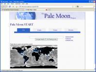 Screenshot programu Pale Moon 25.7.2