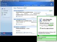 Screenshot programu Panda Platinum Internet Security 2007