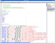 Screenshot programu PawnoX 1.2