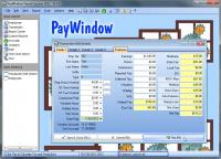 Screenshot programu PayWindow Payroll System 2016 14.0.5