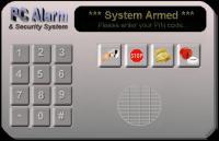 Screenshot programu PC-Alarm and Security System 2.2.12