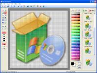 Screenshot programu PC Icon Editor 3.6