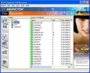 Screenshot programu PC Inspector File Recovery 4.0