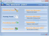 Screenshot programu PC Shower 2011 8.0 Build 11112010