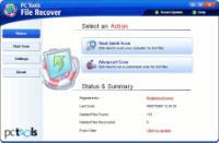 Screenshot programu Pc Tools File Recover 9.0.0.152