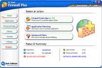 Screenshot programu PC Tools Firewall Plus 6.0.0.88