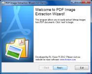Screenshot programu PDF Image Extraction Wizard 6.11