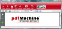 Screenshot programu pdfMachine 14.85