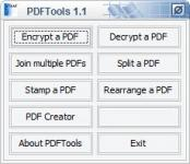 Screenshot programu PDFTools 1.3