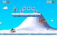Screenshot programu Penguin versus Yeti