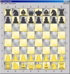 Screenshot programu Pepovy šachy 1.0 beta