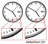 Screenshot programu PerfectClock 2007 3.3.0