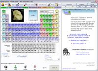 Screenshot programu Periodic Table 3.8.5