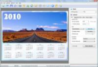 Screenshot programu Photo Calendar Maker 2.65