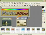 Screenshot programu PhotoFiltre 7.2.1
