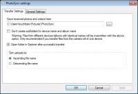 Screenshot programu PhotoSync Companion 1.6.2.0