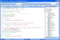 Screenshot programu PHP Designer Professional 2007 5.5.2