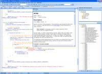 Screenshot programu PHP Desingner 2007