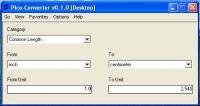 Screenshot programu PicoConverter  0.1.0