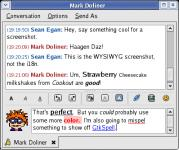 Screenshot programu Pidgin 2.5.1 Linux