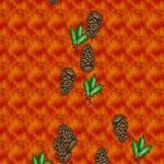 Screenshot programu Pine Cones Screensaver