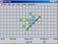 Screenshot programu Piškvorky 8.3