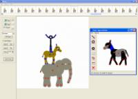 Screenshot programu Pivot Stickfigure Animator 2.2.5