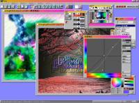Screenshot programu Pixia 6.0.2a