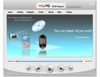 Screenshot programu Plato DVD Ripper 7.85