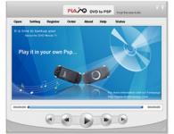 Screenshot programu Plato DVD to PSP Converter 7.87