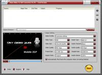 Screenshot programu Plato Video To 3GP Converter 5.87