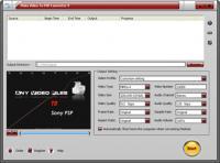 Screenshot programu Plato Video To PSP Converter 5.93