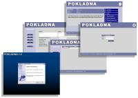 Screenshot programu Pokladna WEB 1.0