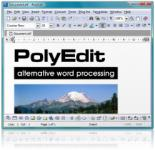 Screenshot programu PolyEdit Lite Portable 5.3.0.0