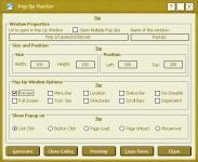 Screenshot programu PopUp Master 1.0