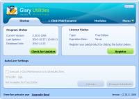 Screenshot programu Glary Utilities 5.11.0.23 Portable