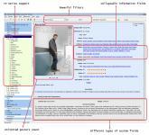 Screenshot programu Personal Video Database 0.9.9.21 Portable