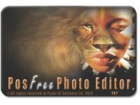 Screenshot programu Pos Free Photo Editor 1.50